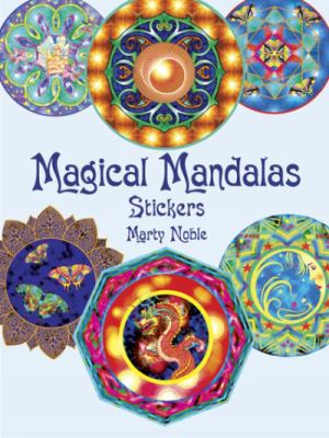 Magical Mandalas Stickers 9780486441733