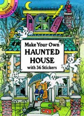 Make Your Own Haunted House with 36 Stickers
