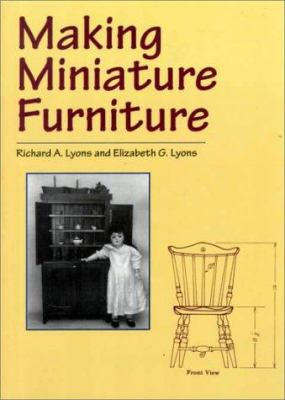 Making Miniature Furniture 9780486407197