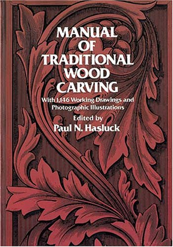 Manual of Traditional Wood Carving 9780486234892