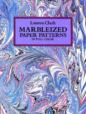 Marbleized Paper Patterns in Full Color 9780486272207