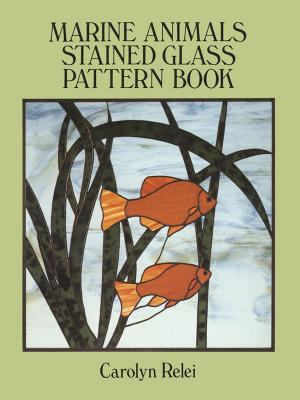 Marine Animals Stained Glass Pattern Book 9780486270166