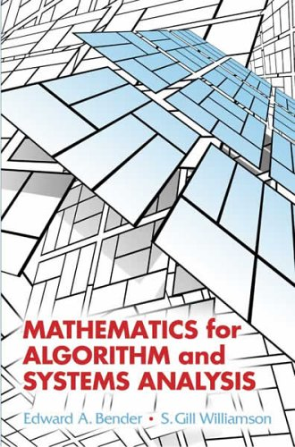 Mathematics for Algorithm and Systems Analysis 9780486442501