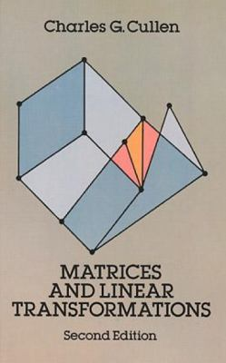 Matrices and Linear Transformations: Second Edition 9780486663289