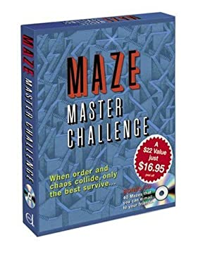 Maze Master Challenge [With CDROM and 3 Books and Poster] 9780486458755