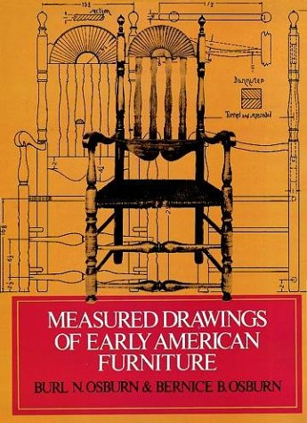 Measured Drawings of Early American Furniture 9780486230573