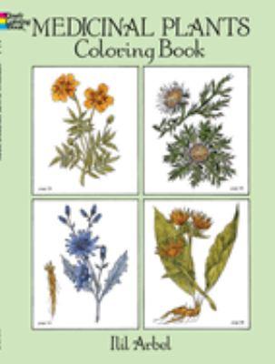 Medicinal Plants Coloring Book 9780486274621