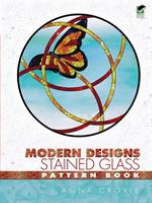 Modern Designs Stained Glass Pattern Book 9780486446622