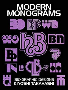 Modern Monograms: 1310 Graphic Designs 9780486247885