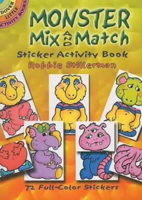 Monster Mix and Match Sticker Activity Book [With Reusable Stickers] 9780486456638