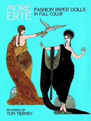 More Erte Fashion Paper Dolls in Full Color 9780486246307