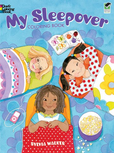 My Sleepover Coloring Book 9780486476568