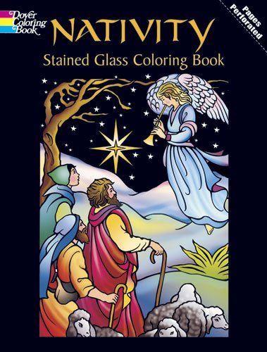 Nativity Stained Glass Coloring Book 9780486435275