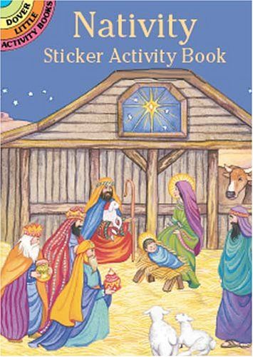 Nativity Sticker Activity Book 9780486417455
