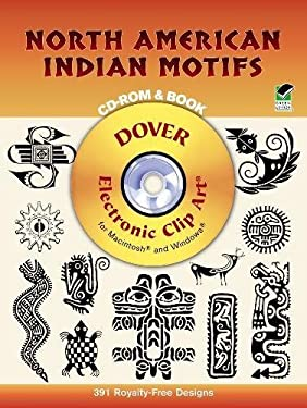 North American Indian Motifs CD-ROM and Book 9780486999456