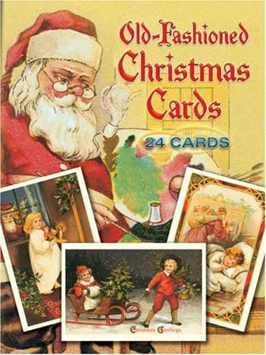 Old-Fashioned Christmas Cards: 24 Cards 9780486260570