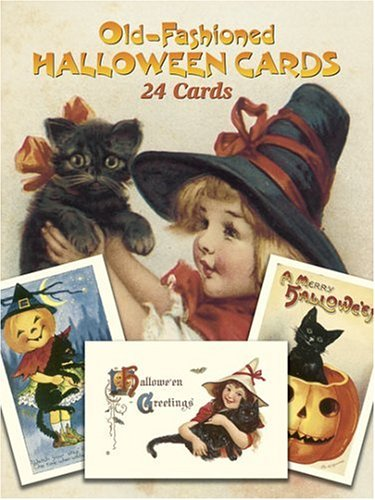Old-Fashioned Halloween Cards: 24 Cards 9780486257464