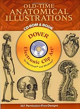 Old-Time Anatomical Illustrations [With CD-ROM]