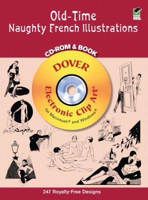 Old-Time Naughty French Illustrations CD-ROM and Book