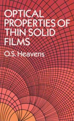Optical Properties of Thin Solid Films 9780486669243