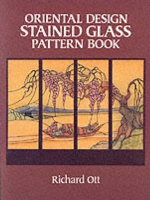 Oriental Design Stained Glass Pattern Book 9780486252292