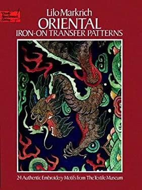 Oriental Iron-On Transfer Patterns 9780486238869