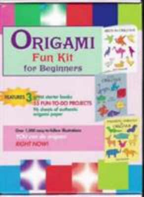 Origami Fun Kit for Beginners [With Starter BooksWith Origami Paper] 9780486432922