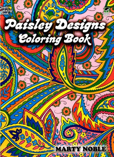 Paisley Designs Coloring Book 9780486456423