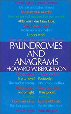 Palindromes and Anagrams 9780486206646