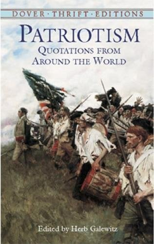 Patriotism: Quotations from Around the World 9780486426907