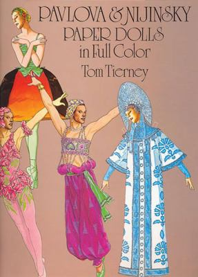 Pavlova and Nijinsky Paper Dolls in Full Color 9780486240930