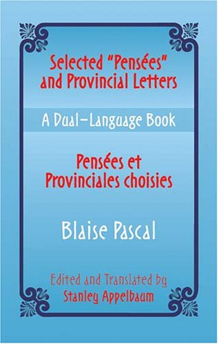 Pensees Et Provinciales Choisies/Selected Pensees And Provincial Letters 9780486433646