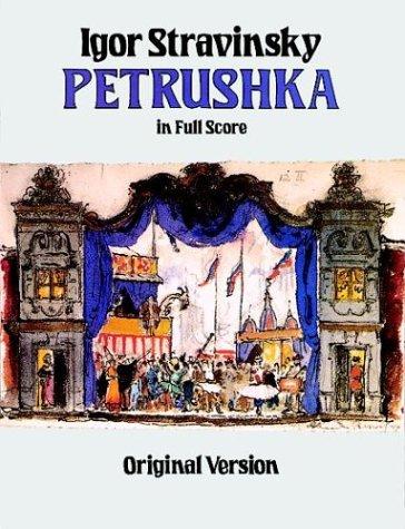 Petrushka in Full Score: Original Version 9780486256801