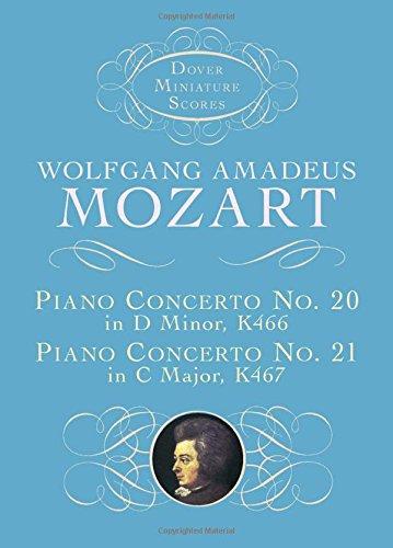 Piano Concerto No. 20, K466, and Piano Concerto No. 21, K467 9780486408682