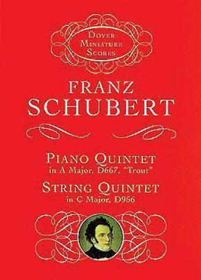 Piano Quintet & String Quintet 9780486406435