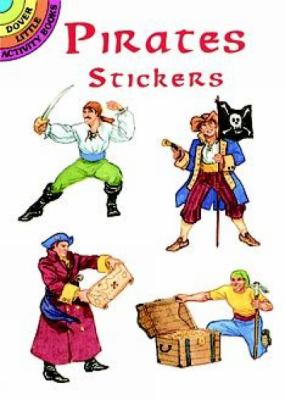 Pirates Stickers 9780486400112