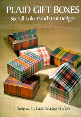 Plaid Gift Boxes: Six Full-Color Punch-Out Designs