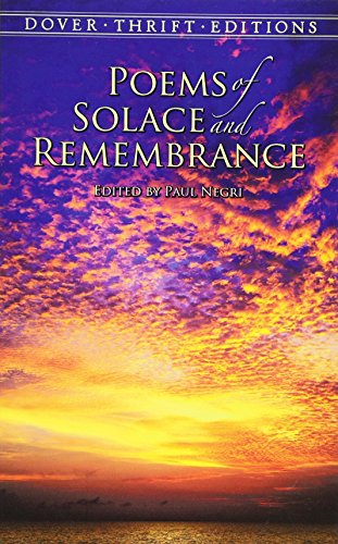 Poems of Solace and Remembrance 9780486415840