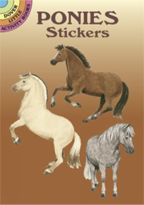 Ponies Stickers 9780486430065