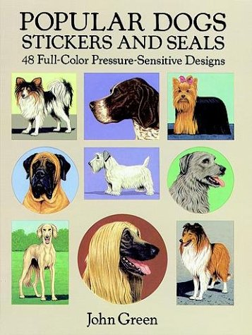 Popular Dogs Stickers and Seals 9780486269009