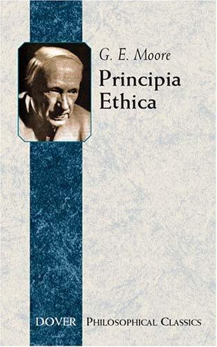 Principia Ethica 9780486437521