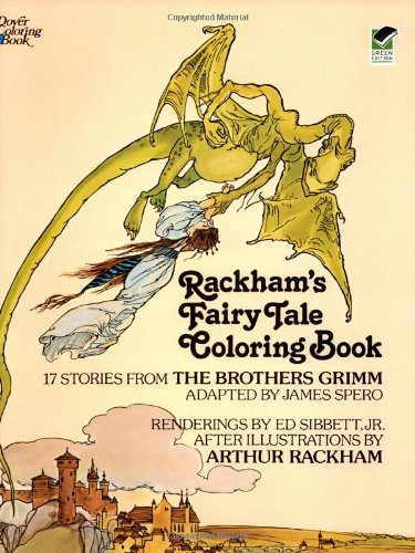 Rackham's Fairy Tale Coloring Book 9780486238449