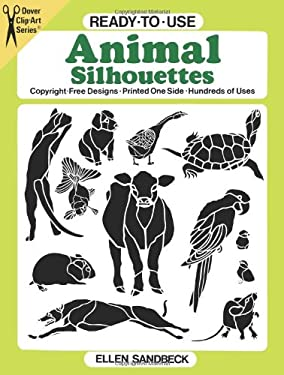 Ready-To-Use Animal Silhouettes 9780486260587