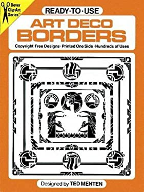 Ready-To-Use Art Deco Borders