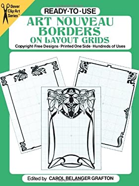 Ready-To-Use Art Nouveau Borders on Layout Grids 9780486252193