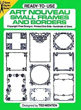 Ready-To-Use Art Nouveau Small Frames and Borders 9780486249759