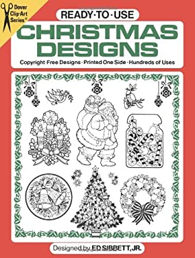 Ready-To-Use Christmas Designs 9780486239002