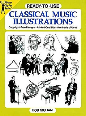 Ready-To-Use Classical Music Illustrations 9780486264240