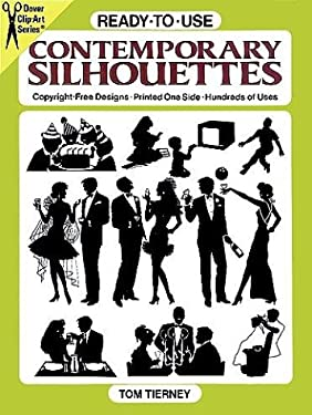 Ready-To-Use Contemporary Silhouettes 9780486261621