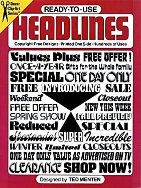 Ready-To-Use Headlines 9780486234540